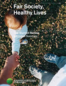 Couverture du Strategic Review of Health Inequalities in England Post 2010: Fair Society, Healthy Lives - The Marmot Review Final Report