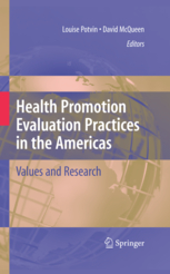 Health Promotion Evaluation Practices in the Americas: Values and Research cover