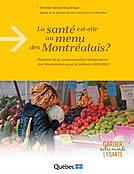 Couverture La santé est-elle au menu des Montréalais